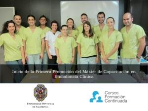 Máster Universitario de Capacitación en Endodoncia Clínica Máster Titulo Propio Unversidad Pontificia de Salamanca